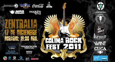 Colima Rock Fest 2011