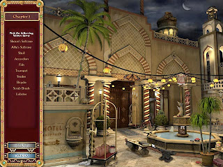 Screen shot of Harlequin Presents video game