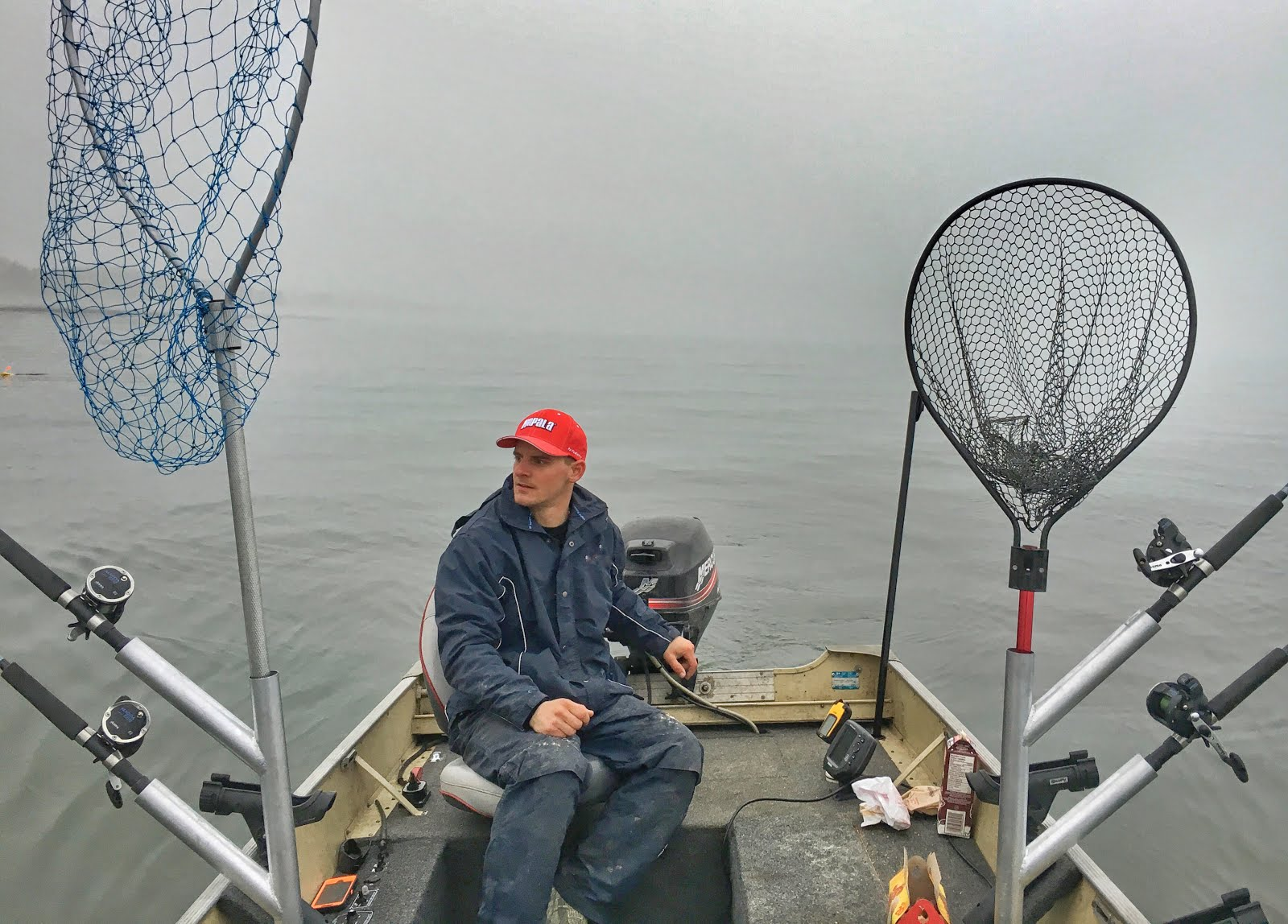 Trolling Lake Ontario In March