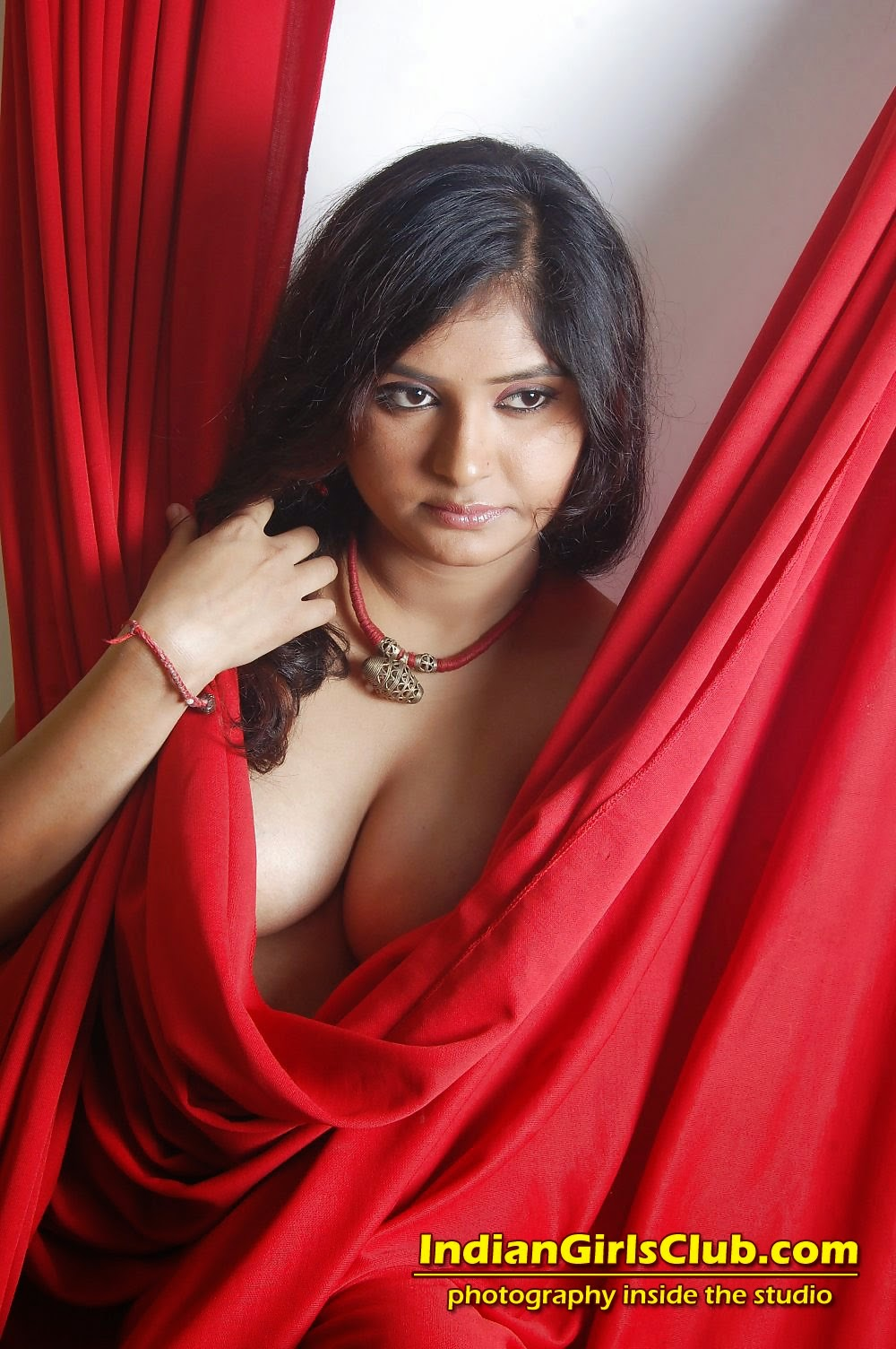 Nude indian models inside studio