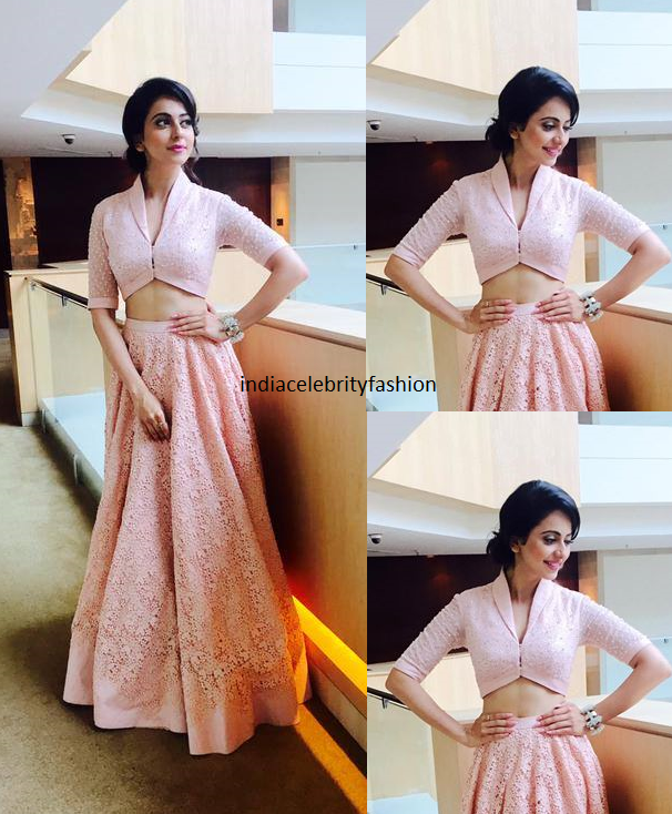 Rakul Preet Singh in Neeta Lulla for Bruce Lee2 Audio launch