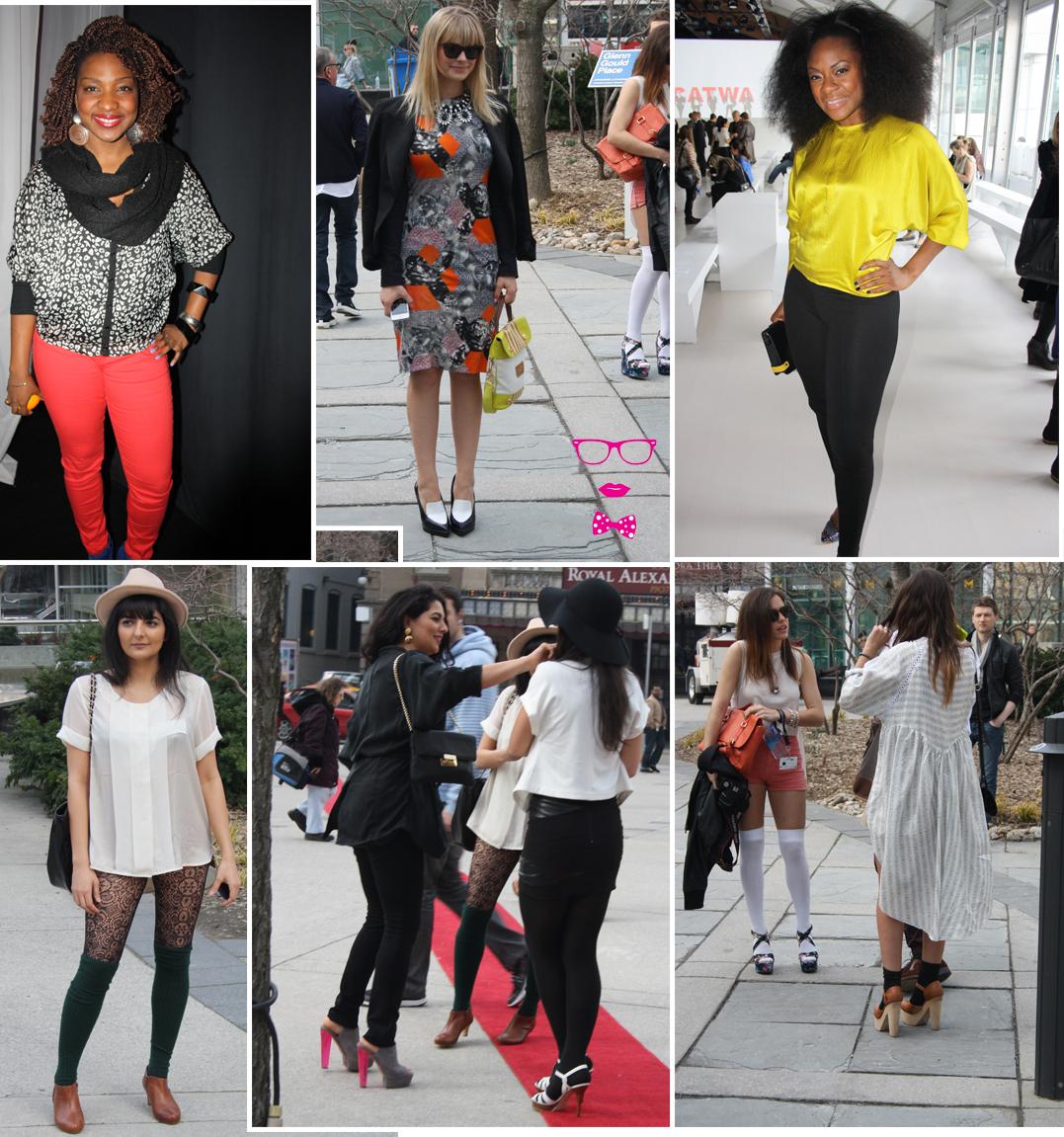 Curvy Geekery Last Day Toronto Fashion Week Street Style