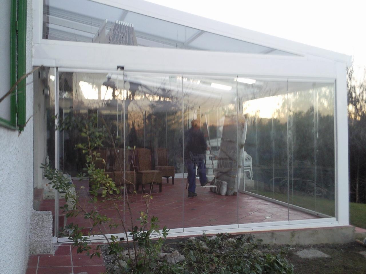 Estructuras met licas para porches y cenadores for Estructuras para jardin