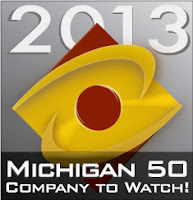 Michigan 50 Company to Watch Logo