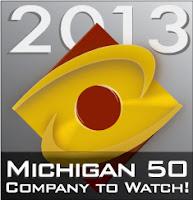 Michigan 50 Company to Watch Logo