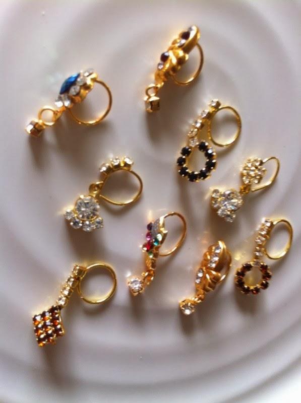 Toptenfashionnew Gold Bridal Nath