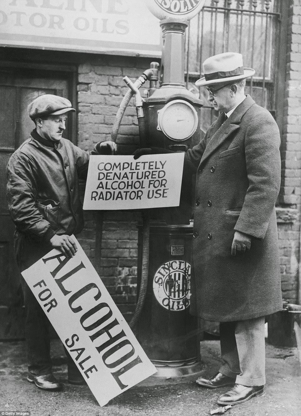 Historical Celebrations Prohibition Finally