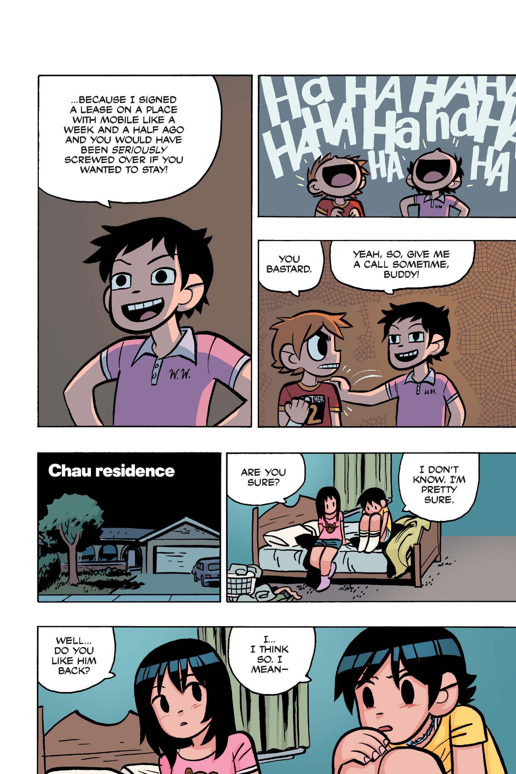 Read online Scott Pilgrim comic -  Issue #4 - 197