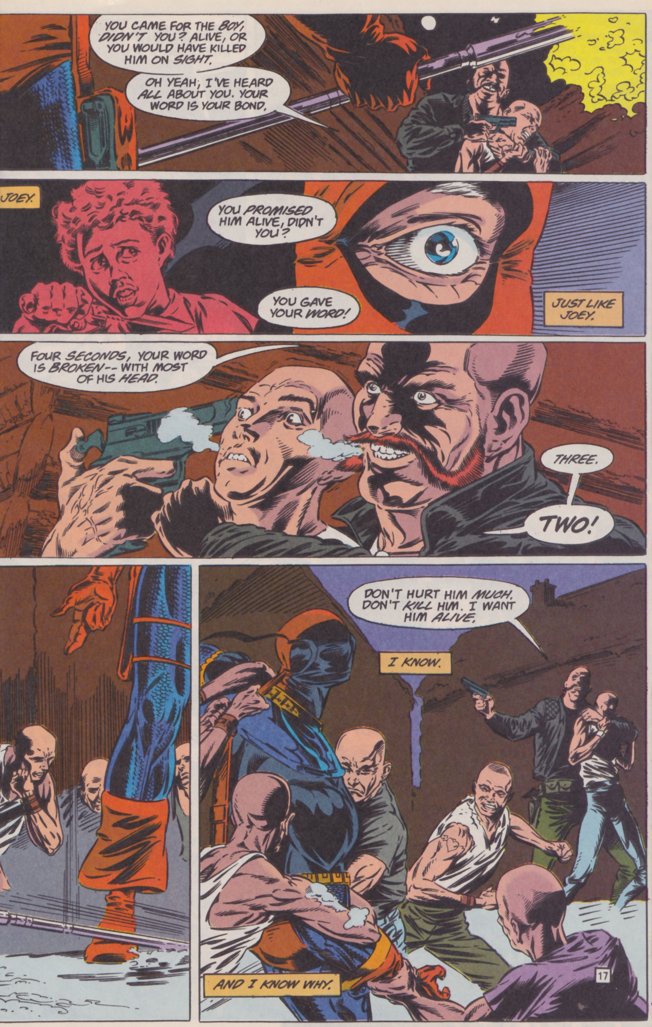 Deathstroke (1991) Issue #22 #27 - English 18
