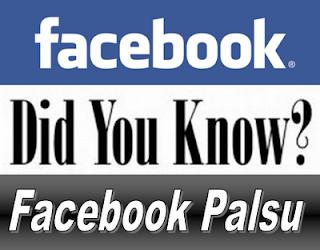 Rahasia Terbesar Mengetahui Akun Facebook Palsu