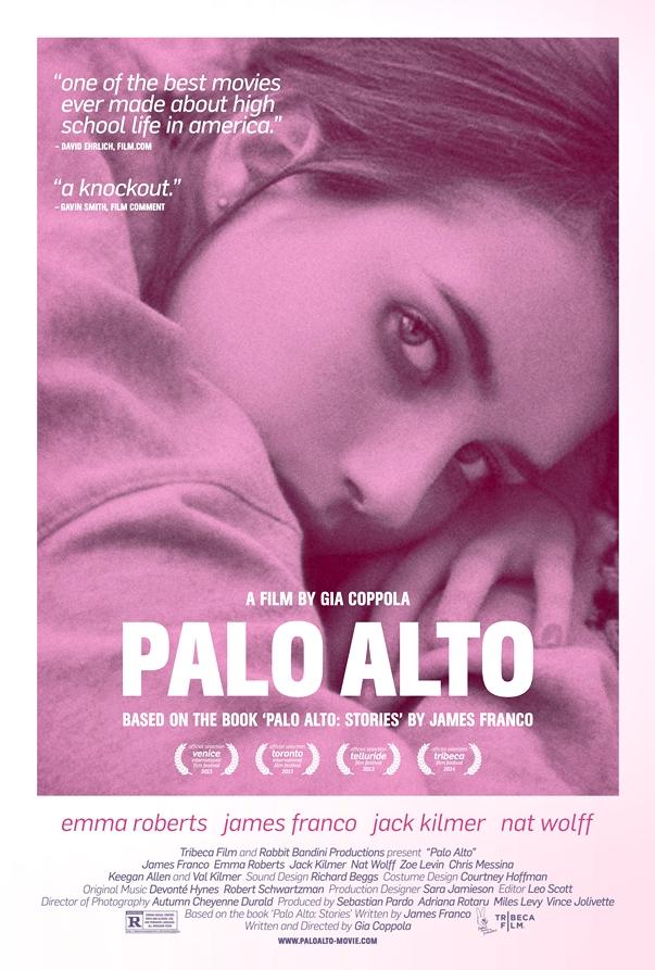 Póster: Palo Alto, de Gia Coppola