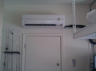 trane ductless mini split. the trane mini split condenser is super quite and at 18 seer it will cost very little to operate. ductless g