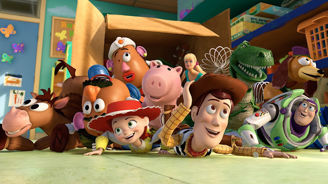TOY STORY -  VERSIONES 1,2,3,4