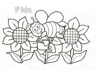 riscos de abelhas para pintar