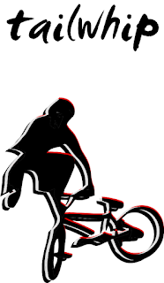 BMX shirt - Tailwhip Vector Design