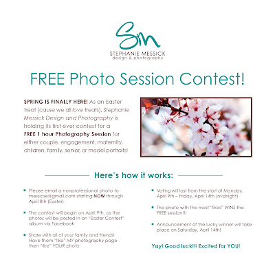 Free photo session contest facebook