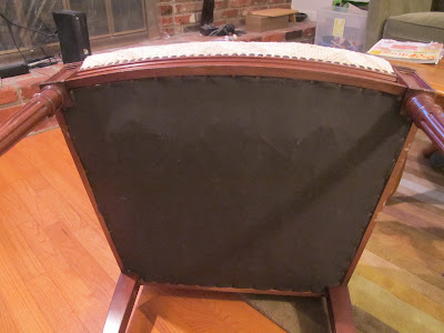 Why I Used A Butter Knife To Reupholster A Thrift Store Chair Part 1 Thrift Diving Blog