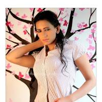 Sanjana Singh in Tight Shirt Hot  Photos