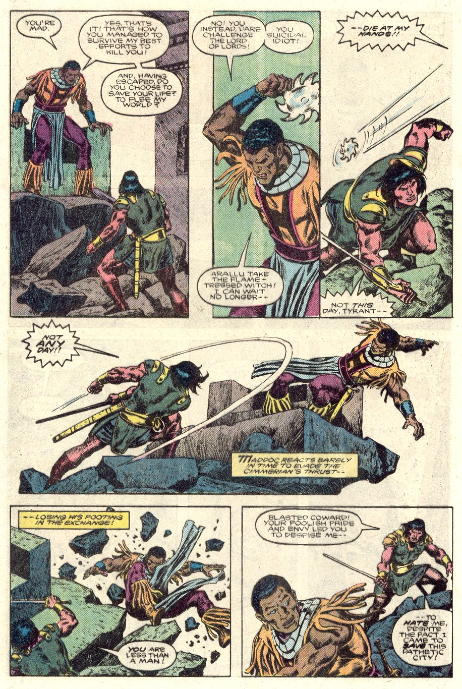 Conan the Barbarian (1970) Issue #184 #196 - English 15