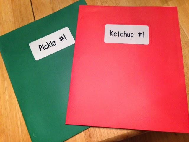 nerdy nerdy nerdy ketchup and pickle folders