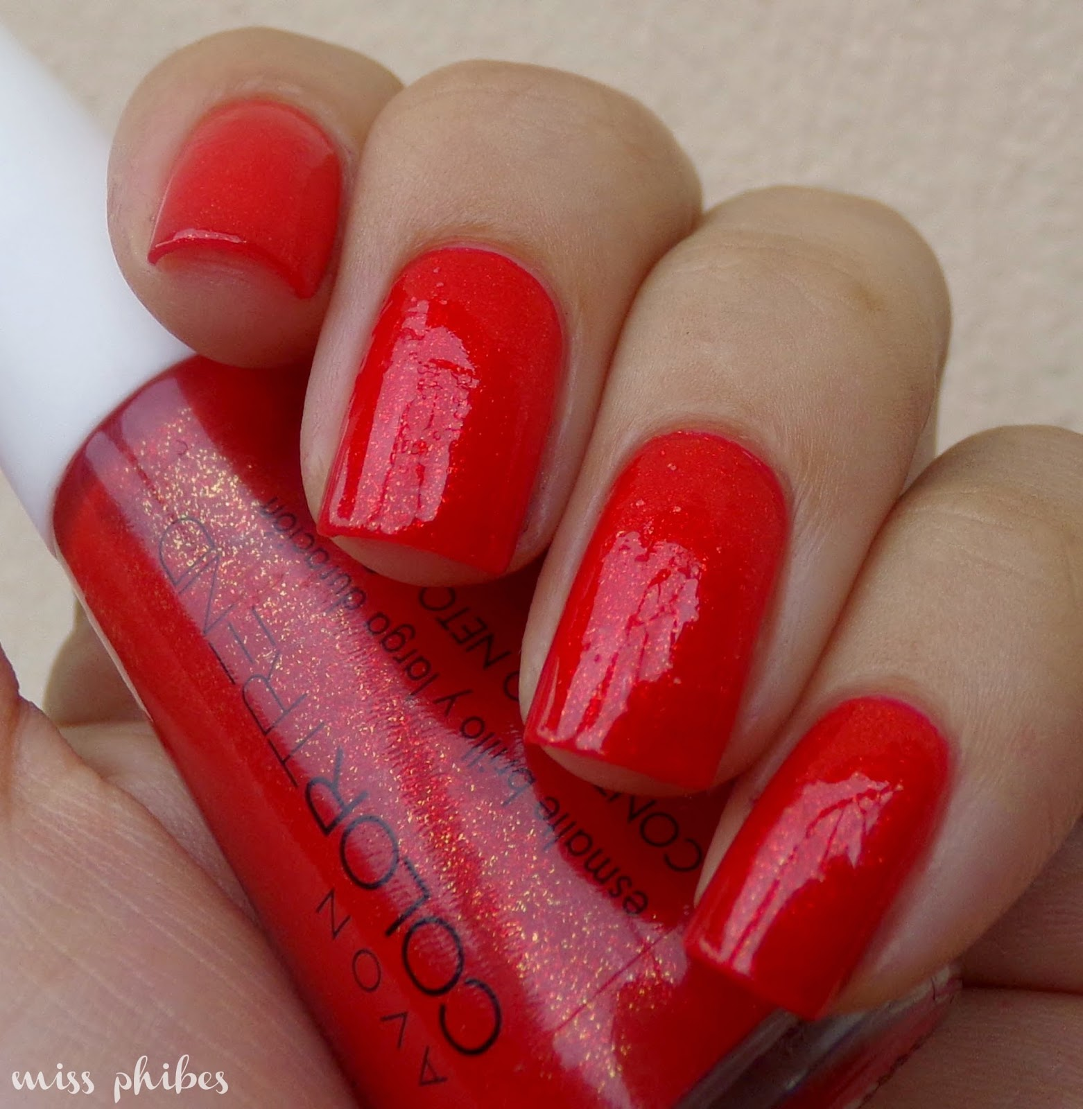 Avon Color Trend Rojo Destello