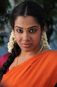 Sandhya new photos in half saree-thumbnail-6