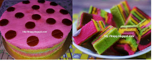Kek Velvet Kukus Lapis HawFlakes