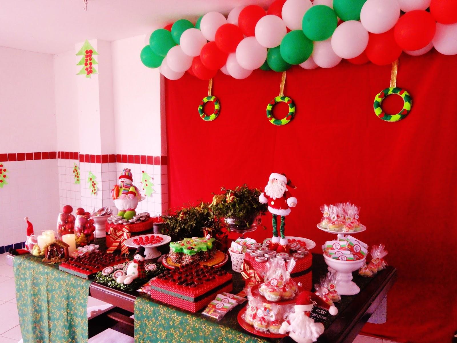 Rafaela Colonese Decoraç u00e3o de Natal na escola -> Decoração De Natal Simples Escola