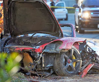 Paul Walker's death car