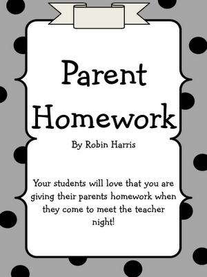 Giving parents homework