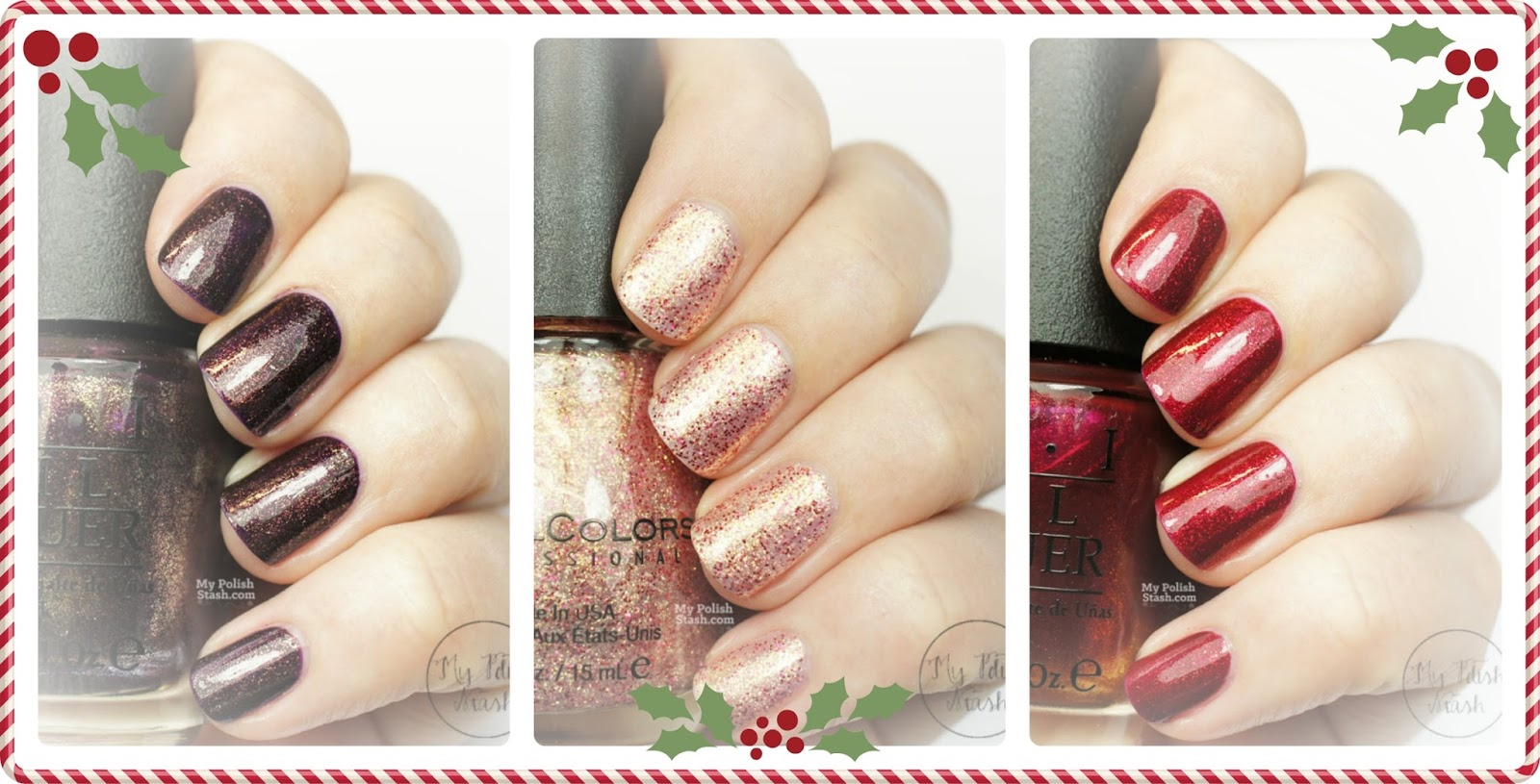 holiday nail polish