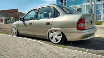 """Corsa Sedan Rebaixado R17"""""""