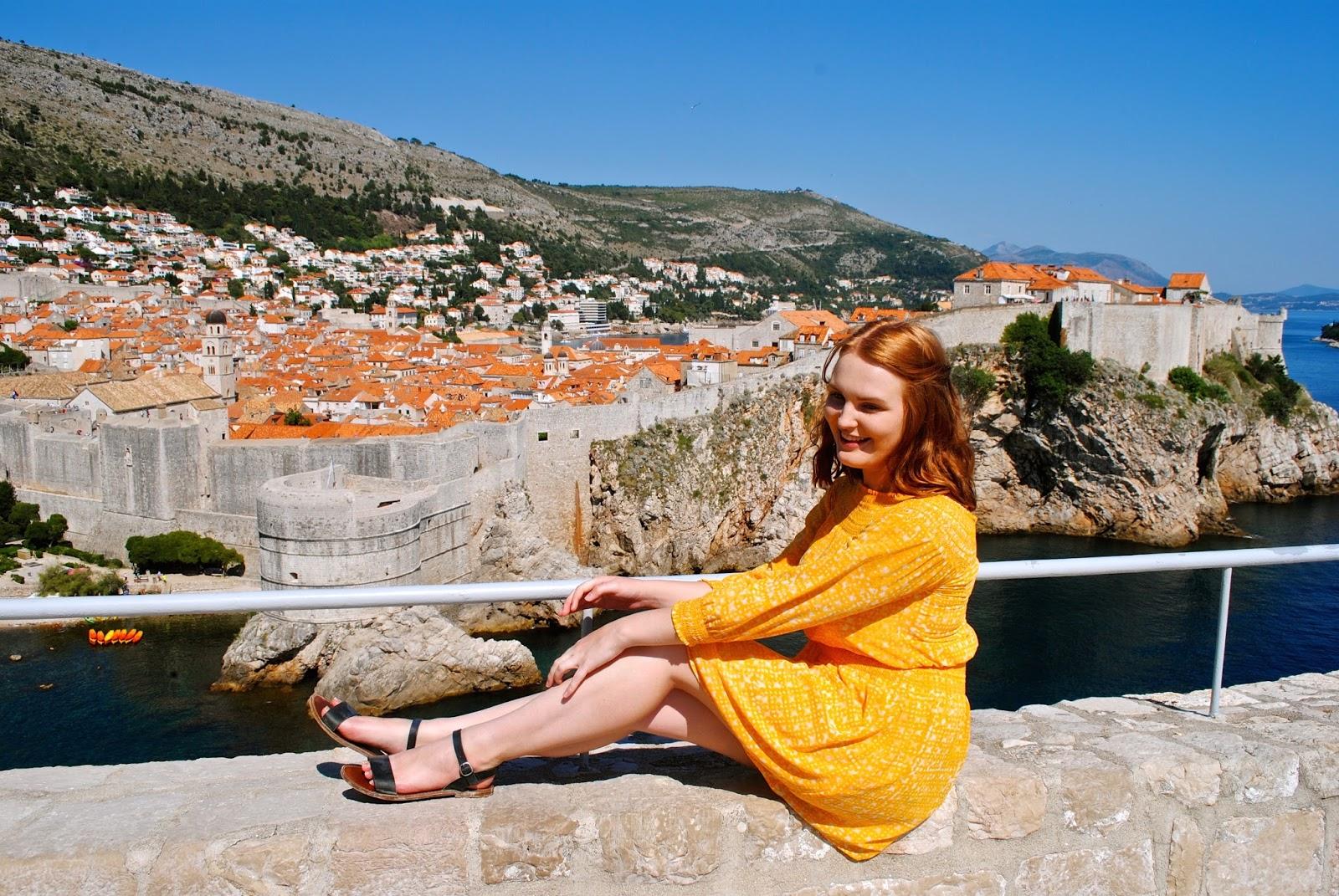 Best view in Dubrovnik Kings Landing from Lobrijenac Fortress