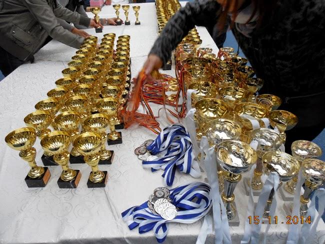cupe si medalii pentru Cupa Katamis