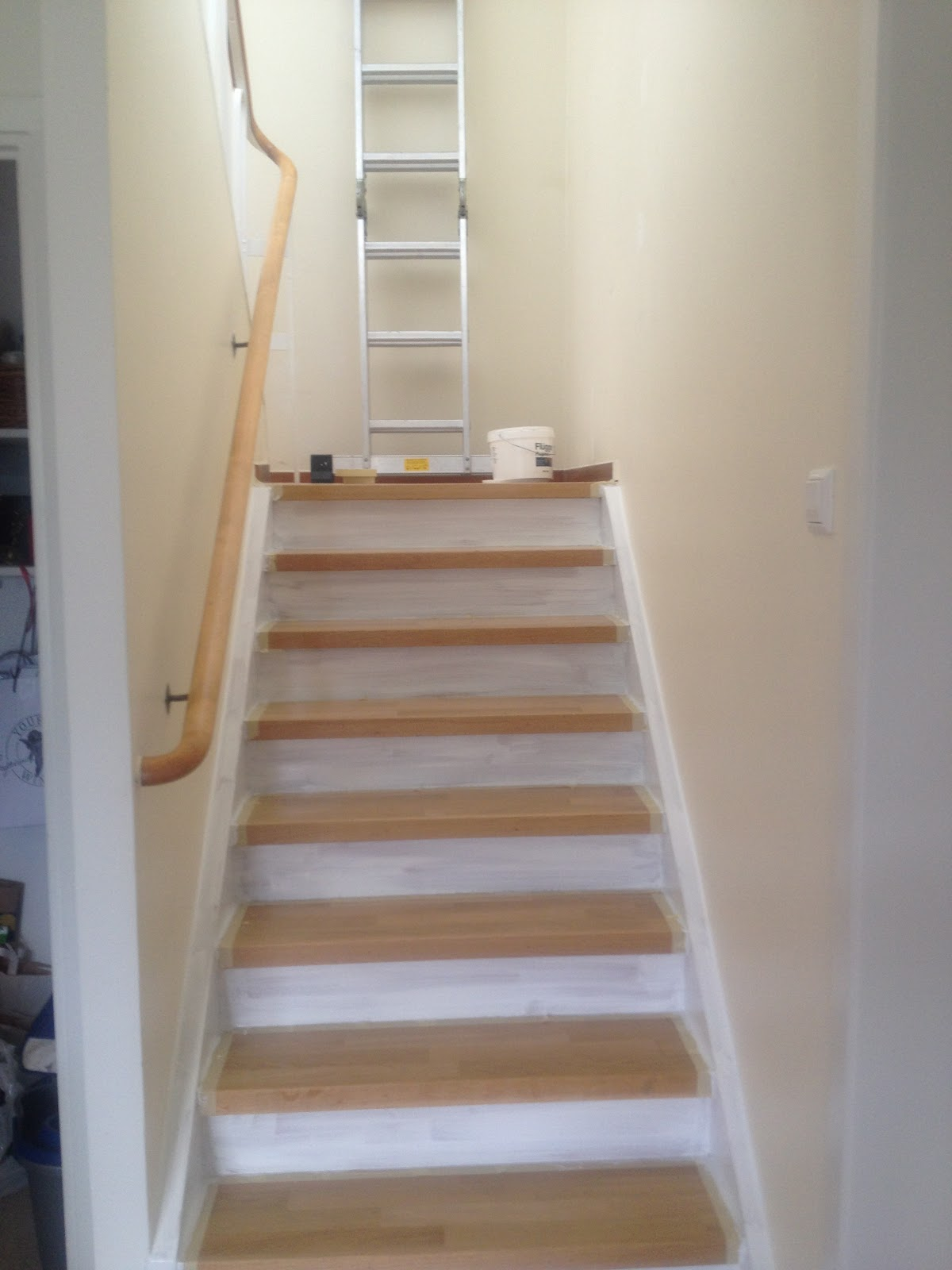 Hus inspiration inredning: renovera trappan   visst går det att ...