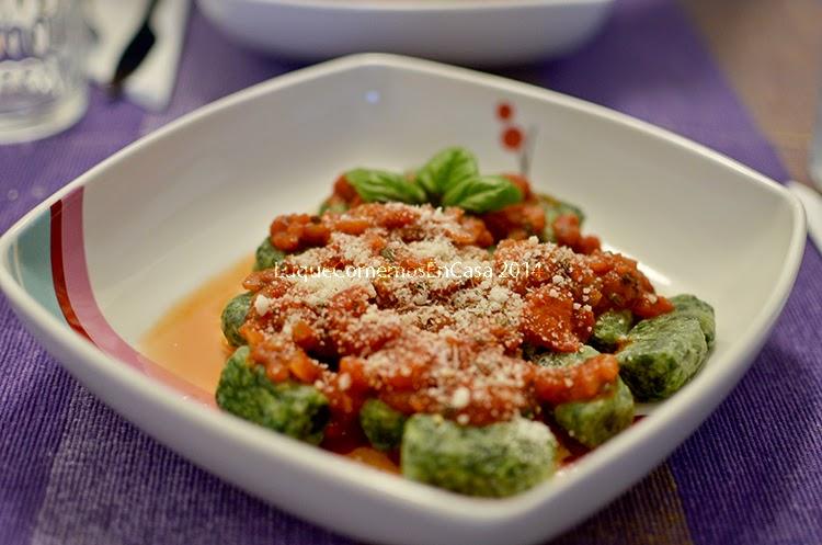 Gnocchis (ñoquis) De Espinaca