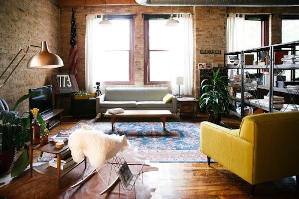 Estilo loft 5 decorar tu casa es for Decoracion estilo loft