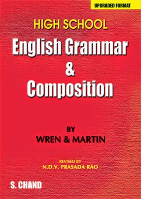 English Grammar and Composition by Wren and Martin book cover
