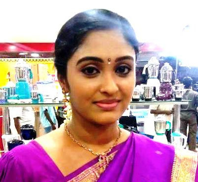 Tv Actress Sreeja Chandran Saravanan Meenakshi Latest