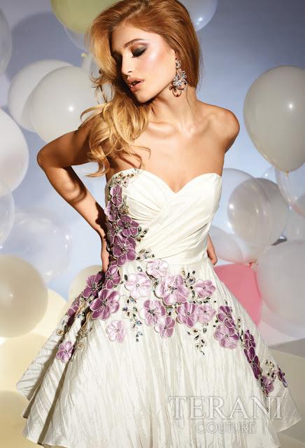 Vestidos cortos de fiesta terani 2012 15 - Gen� K�z Abiye Modelleri
