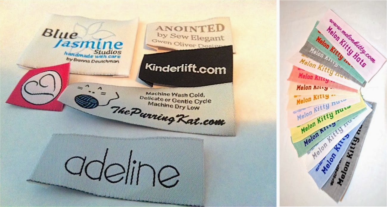 custom woven clothing labels made everyday