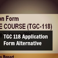 TGC 118 Application Form Alternative