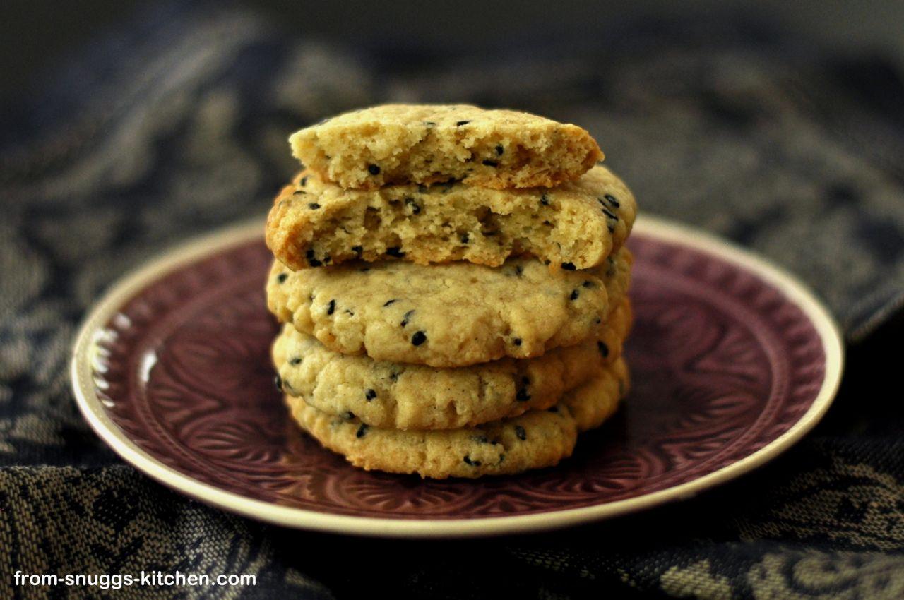 Tahin-Limetten-Cookies