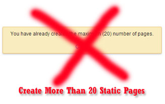 Create More Static Pages