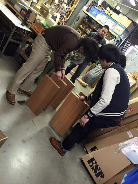 ESP工場 木材選定
