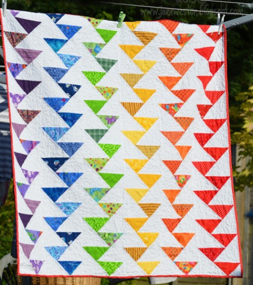 Rainbow Migrating Geese –Tutorial