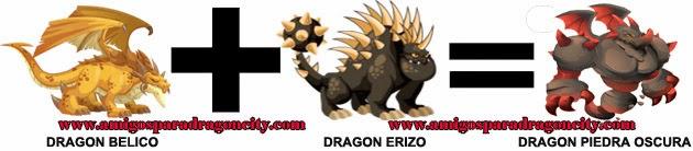 como hacer el dragon piedra oscura en dragon city formula 2