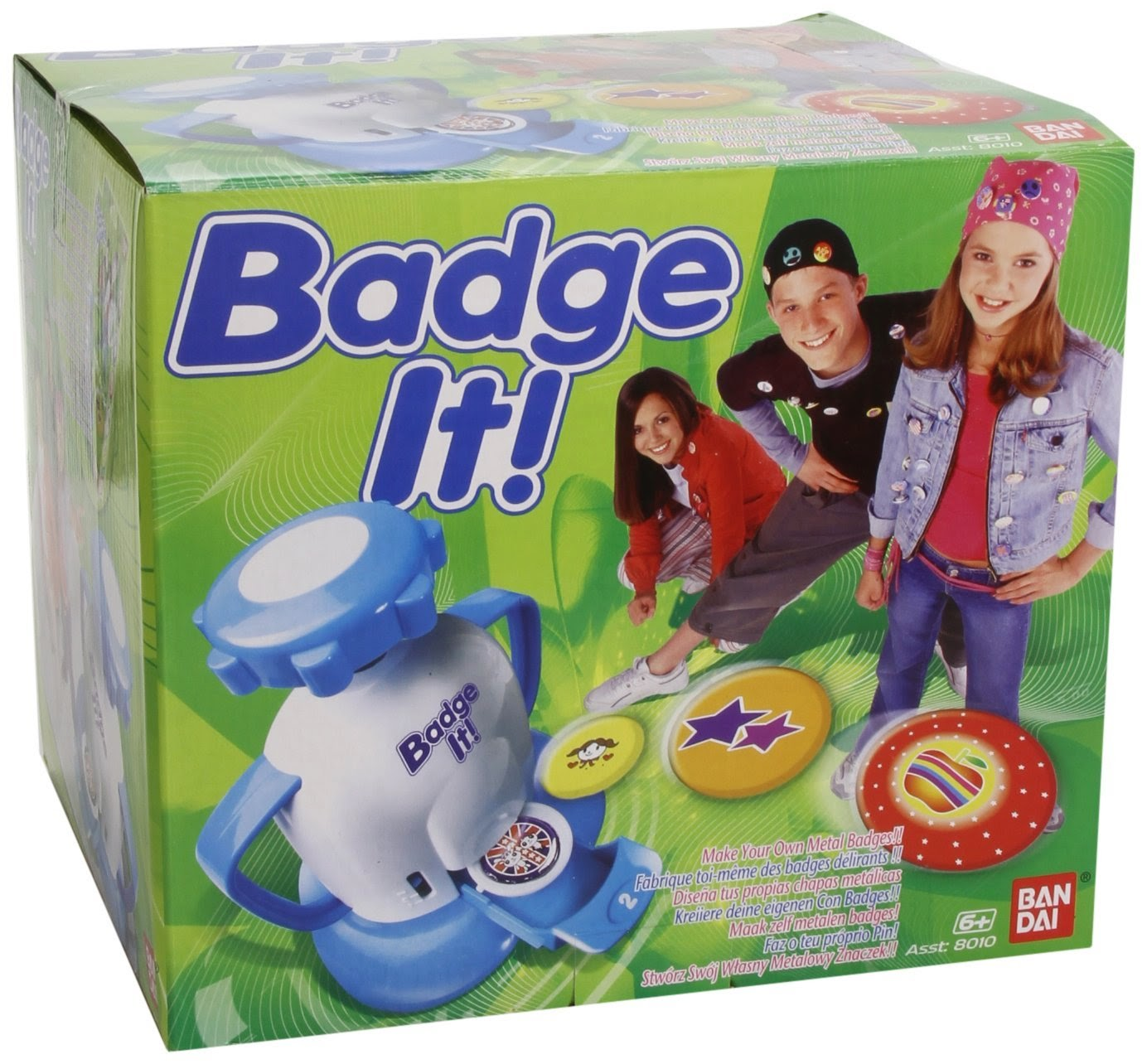 jouet bandai, badge it, jeu pour noel