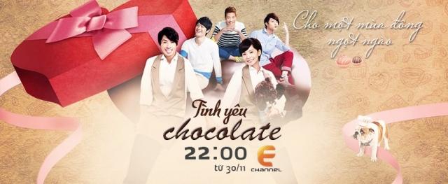 Hình ảnh phim Tình Yêu Chocolate