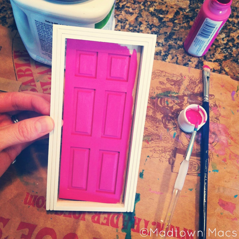 Making a fairy door blogher for Homemade elf door